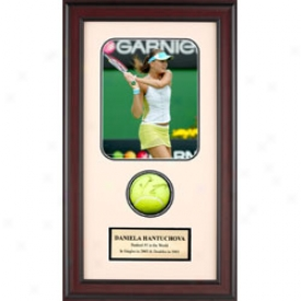 Assorted Daniela Hantuchova Autograph Shadow Box