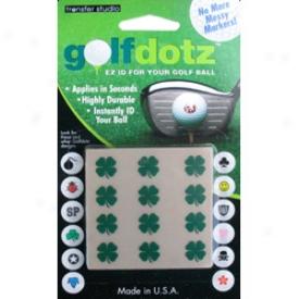 Assorted Golf Dotz - Lucky Clovers