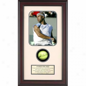 Assorted James Blake Autograph Shadow Box