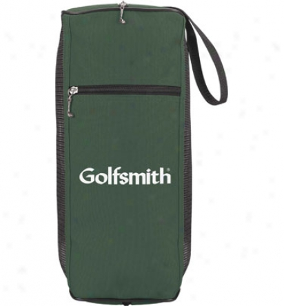Assodted Logo Mesh Golf Shoe Bag