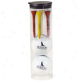 Assorted Logo Par Pack With 2 Balls And Tees