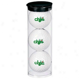 Assorted Logo Par Pack With 3 Balls