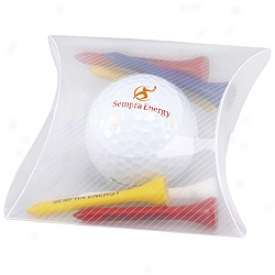 Assorted Logo Pillow Pack With 1 Ball Amd 6 Tees