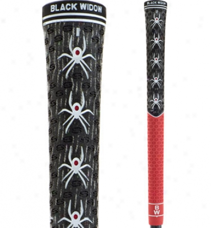 Dismal Widow Widow Maker Black Red Grip Kit