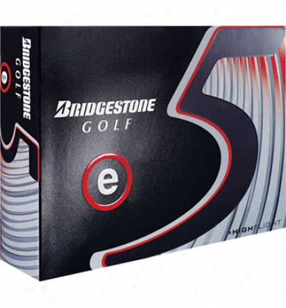 Bridgestone Logo E5 2010 Balls
