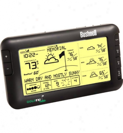 Bushnell Golffxi Wireless Weather Forecaster