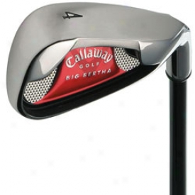 Callaway Big Bertha  08 Traditional Irons 4-aw Steel Shafts