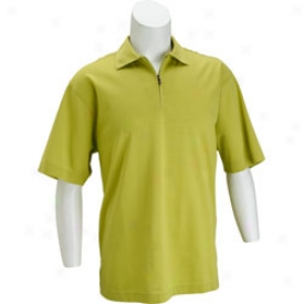 Callaway Collection Liberia 1/2 Zip Solid Polo