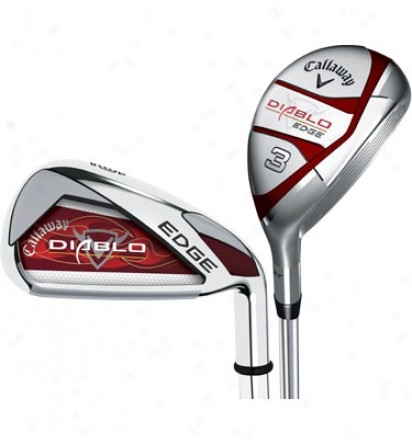 Callaway Diablo Edge Mongrel Combo Set 4h, 5h, 6-pw, Gw With Knife Shafts