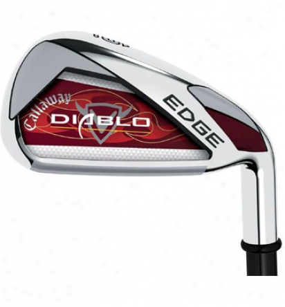 Callaway Diablo Efge Iron Set 3-pw, Sw Wiht Graphite Shafts