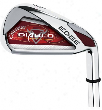 Callaway Diablo Edge Iron Set 6-sw With Graphite Shafts