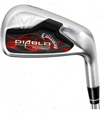 Callawway Diablo Forged Iron Set 3-pw With Steel Shafts