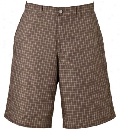 Callaway Flat Front Check Plaid Short