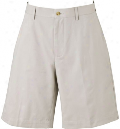 Callaway Flat Front Cotton Twill Short
