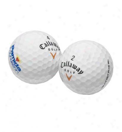 Callaway Hx Hot  Plus Logo Overruns
