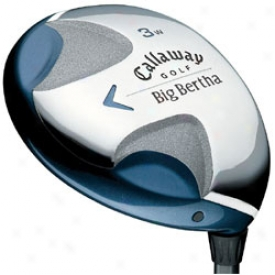 Callaway Lady Big Bertha  08 Fairway Wood W/ Graphite Shaft