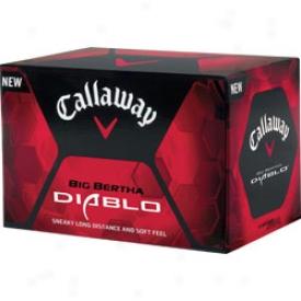 Callaway Loto Big Bertha Diablo Balls