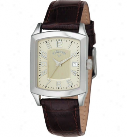 Callaway Men S Rectangle Champange Dial With Date