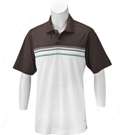 Callaway Men S Short Sleeve Striped Engineered Jacquard Polo