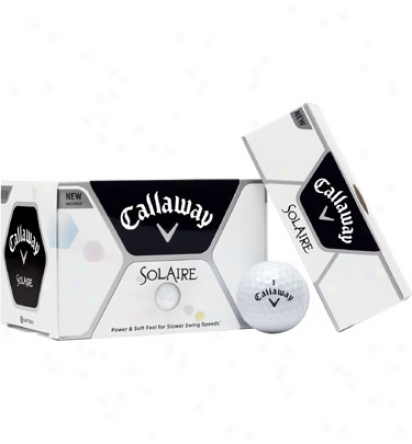 Callaway Personalized Solaire White