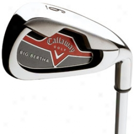 Callaway Preowned Big Bertha 06 Individual Iron W/steel Arrow