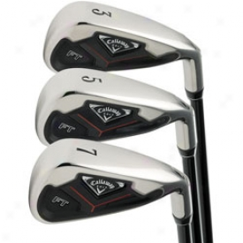Callaway Preowned Ft Iron Set 3-pw By the side of Graphite Shaft