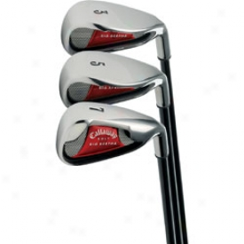 Callaway Senior Big Bertha  08 Iron Contrive 4-sw W/ Graphite