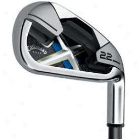 Callaway X-22 Individual Iron With Graphite Shaft