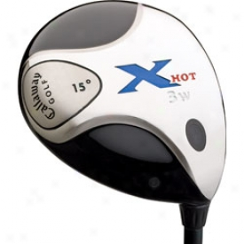 Callaway X Hot Fairway Wood With Graphite Shaft