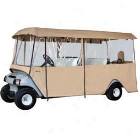 Classic Accessories Deluxe 6 Passenger Golf Cart Enclpsure