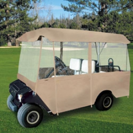 Classic Accessories Fairway Deluxe 4 Passenger Golf Car Enclosure