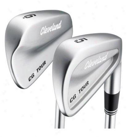 Cleveland Cg 1 Tour Iron Set 4-pw With Steel Shafts