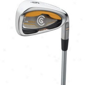 Cleveland Cg Gold Individual Iron With Steel Shaft
