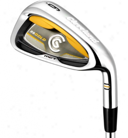 Cleveland Cg Gold Iron Set 4-pw In the opinion of Steel Shafts