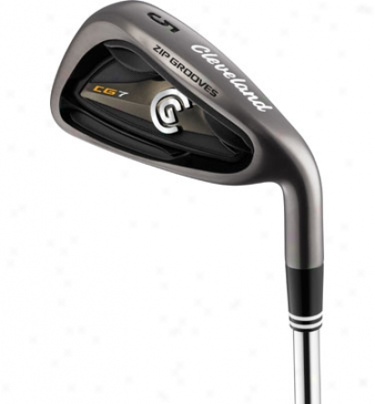 Cleveland Cg7 Black Pearl Individual Iron With Case-harden Shaft