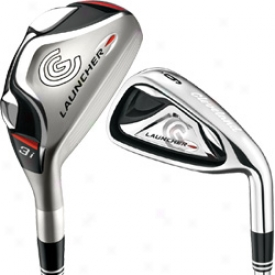 Cleveland Launcher 09 Combo Set 3h, 4h, 5h, With Graphite And 6-pw With Steel Shafts