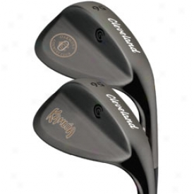 Cleveland Logo Zip Grooves Wedge