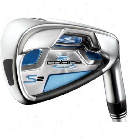 Cobra Lady S2 Individual Iron With Graphite Stem