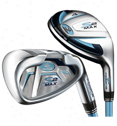 Cobra Wife S2 Max Hybrid Iron Set 4h, 5h, 6h, 7-sw With Graphite Shafts
