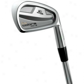 Cobra Pro Cb Iron Set 3-pw With Peoject X Steel Shaft