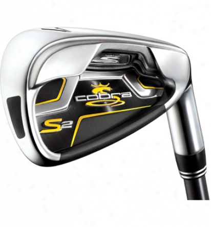 Cobra S2 Individual Iron With Steel Shaft