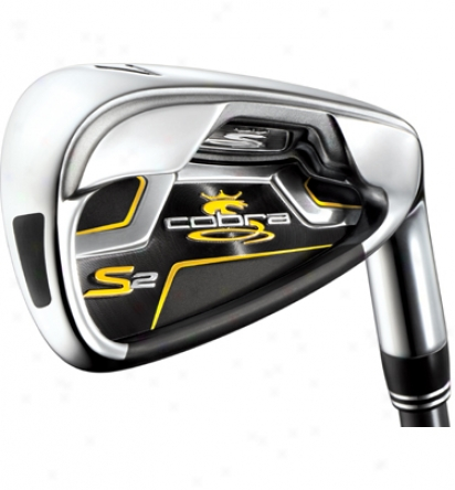 Cobra S2 Iron Set 4-gw With Graphite Shafts