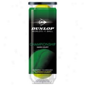 Dunlop Tennis Championship Extra Duty Tennis Balld - Can