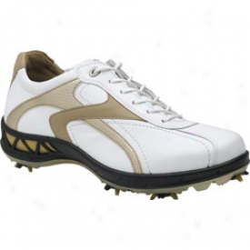 Ecco Ace Hydromax White/and/gold