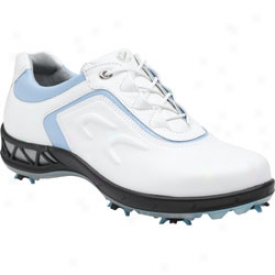 Ecco Ace White/blue Bell