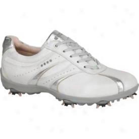 Ecco Casual Indifferent Hydromax - White/light Silver