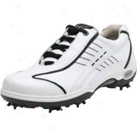 Ecco Casual Pitch Hydromax White/black
