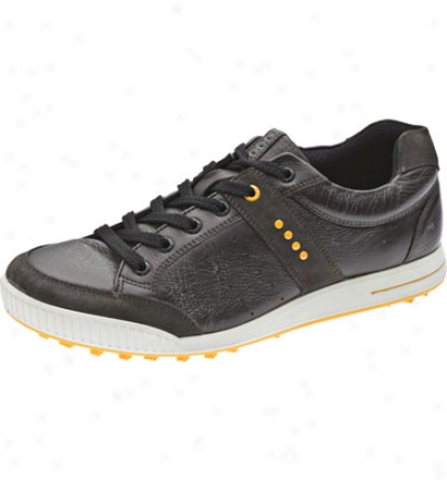 Ecco Men S Gopf Street - Licorice/coffee/fanta