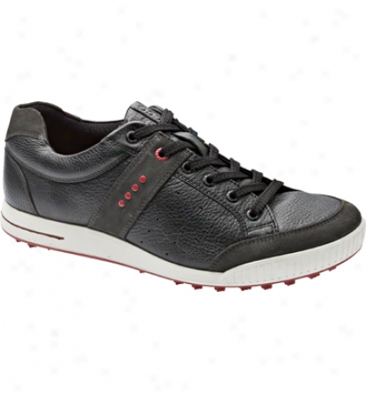 Ecco Men S Golf Street - Moon/black/chilli