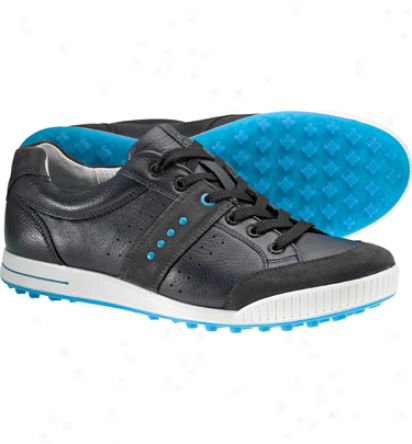 Ecco Men S Golf Street - Moonless/marine/danube